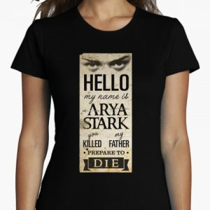 my name is arya stark