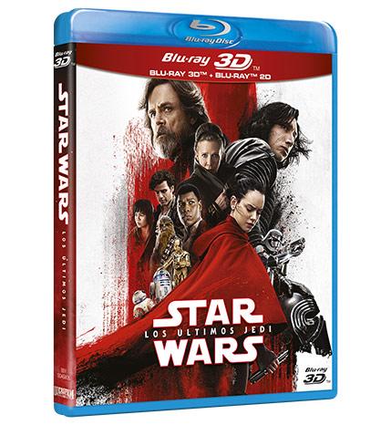 Star Wars: Los últimos Jedi Blur-ray 3D